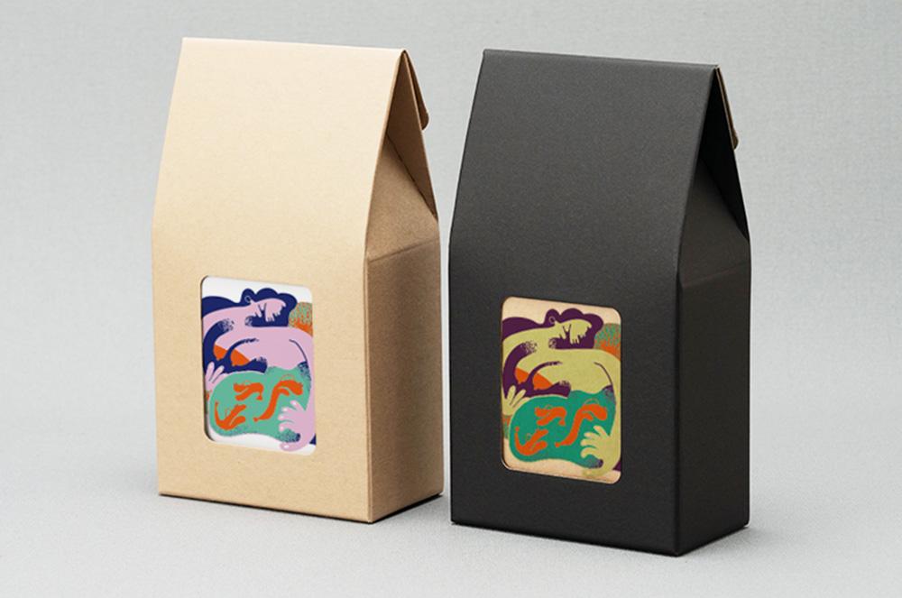 5個用山型ボックス