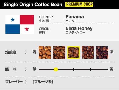 Panama -Elida-Honey