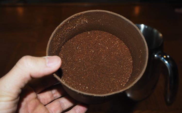 水出しコーヒー 挽き具合