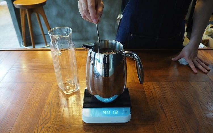水出しコーヒー 作り方