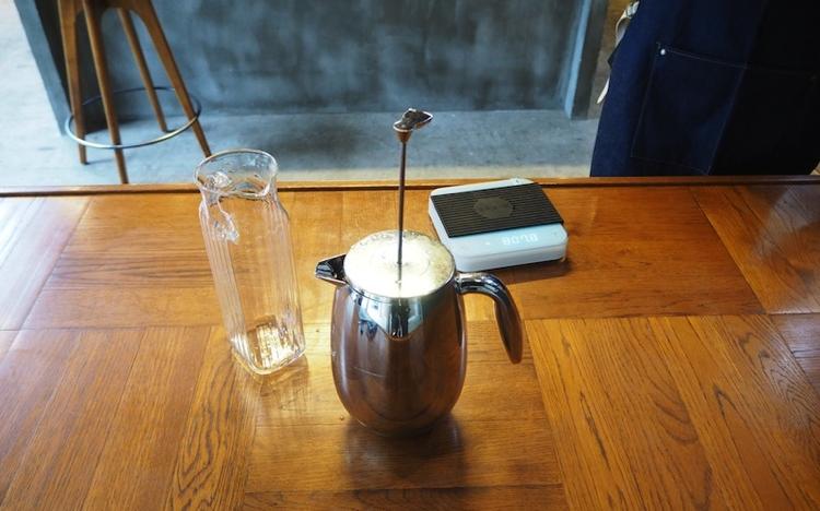 プレス 水出しコーヒー