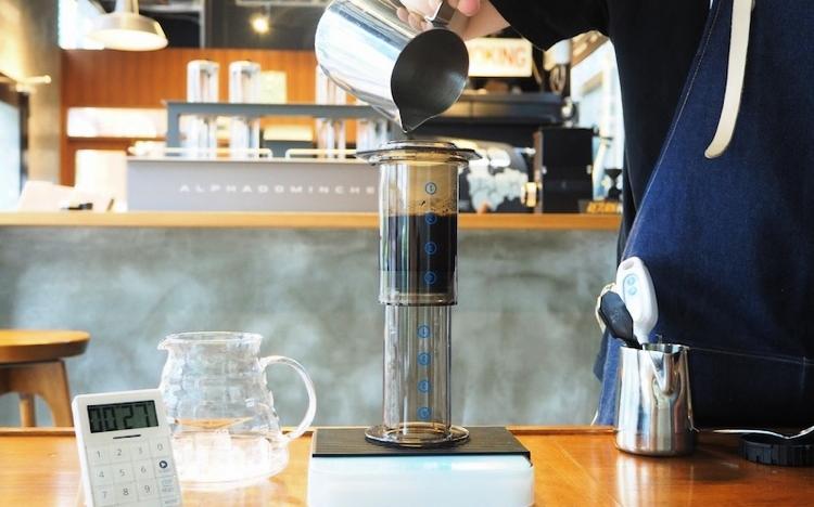 エアロプレス アイスコーヒー 淹れ方