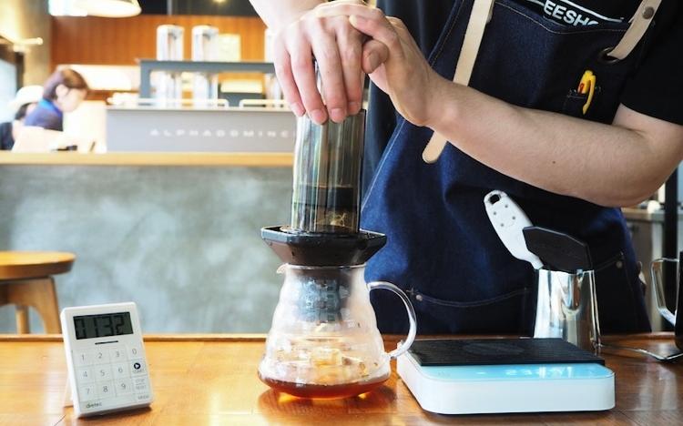 エアロプレス アイスコーヒー 作り方