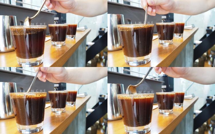 コーヒー カッピング ブレイク