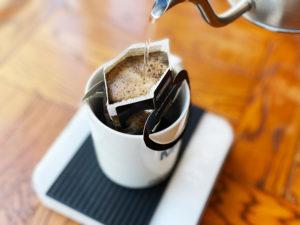 ドリップバッグ コーヒー 抽出