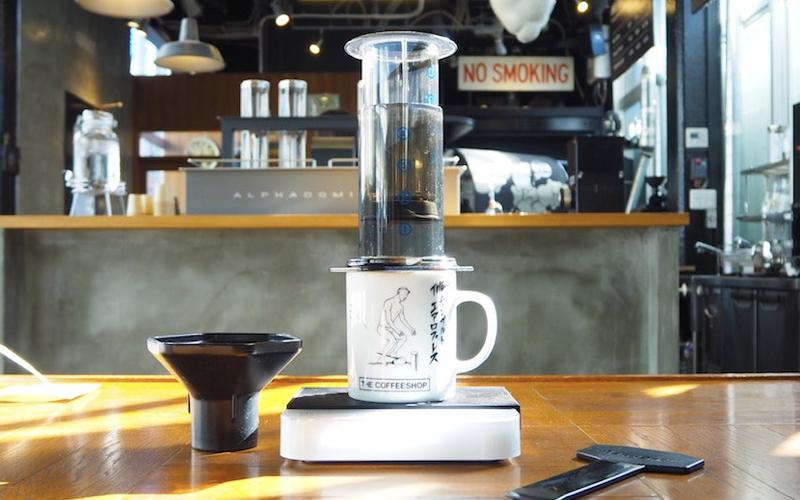 コーヒー淹れ方 エアロプレス