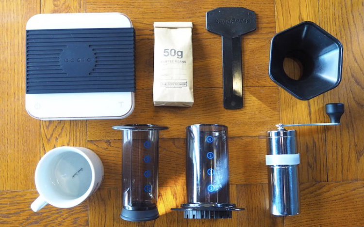 コーヒー 淹れ方 エアロプレス 用意するもの