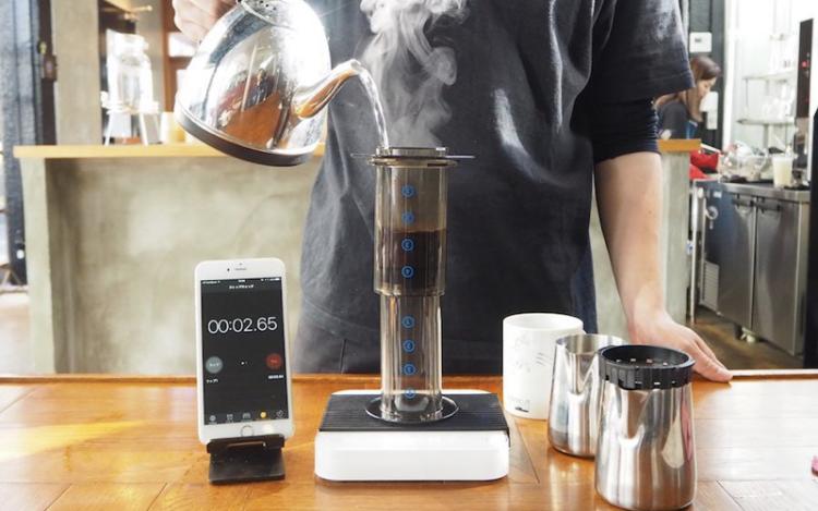 コーヒーの淹れ方エアロプレス方法