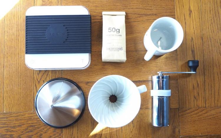コーヒー淹れ方 ハンドドリップ 器具