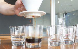 美味しいコーヒーを淹れるための湯量