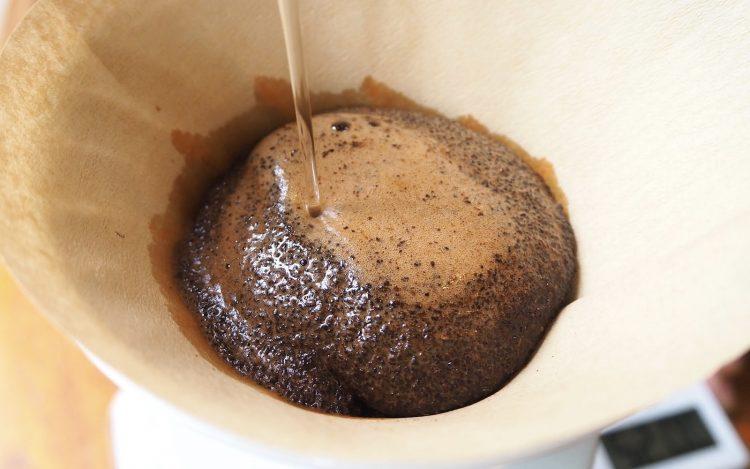 コーヒーの蒸らし時間