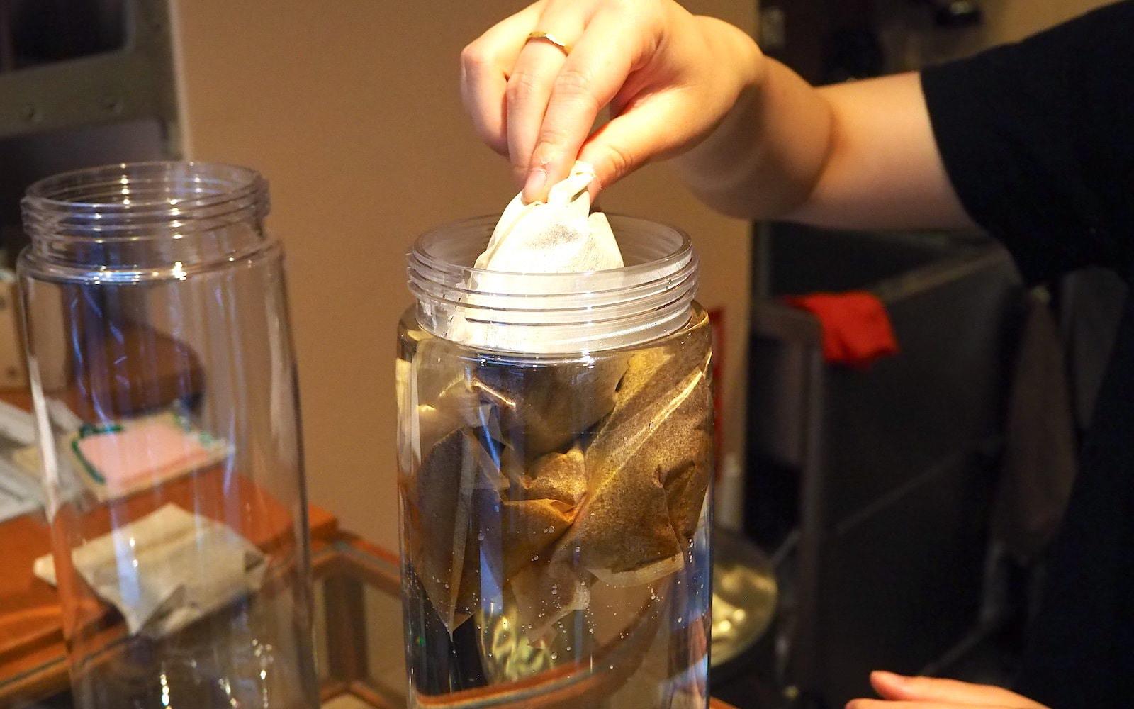 水出しコーヒーレシピ開発中
