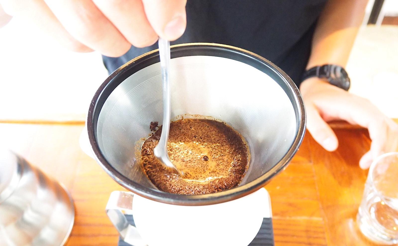 撹拌レシピ コーヒードリップ