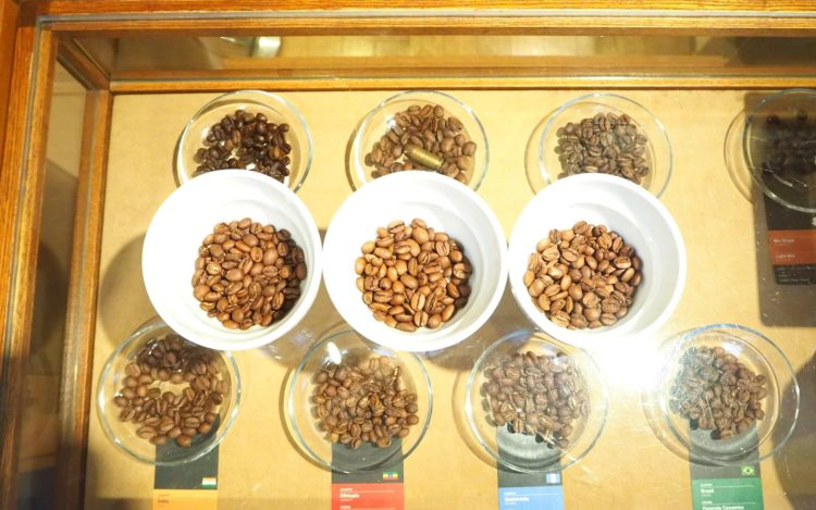 スペシャルティコーヒー豆3種類(ブラジル、インド、エチオピア)