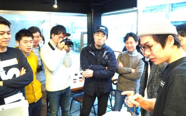 コーヒーレクチャー朝渋2