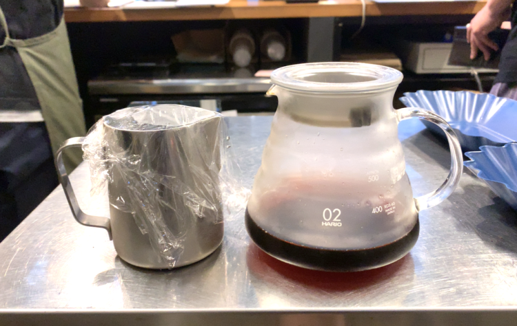 作り置きコーヒー容器