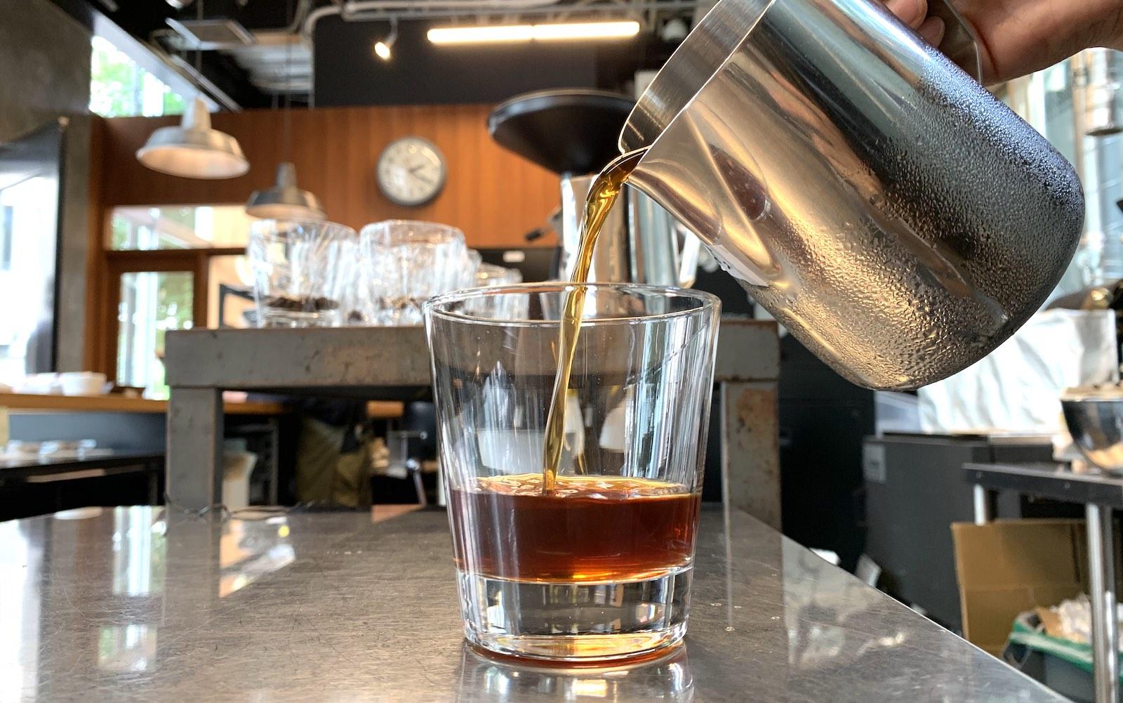 水出しコーヒーマシン検証