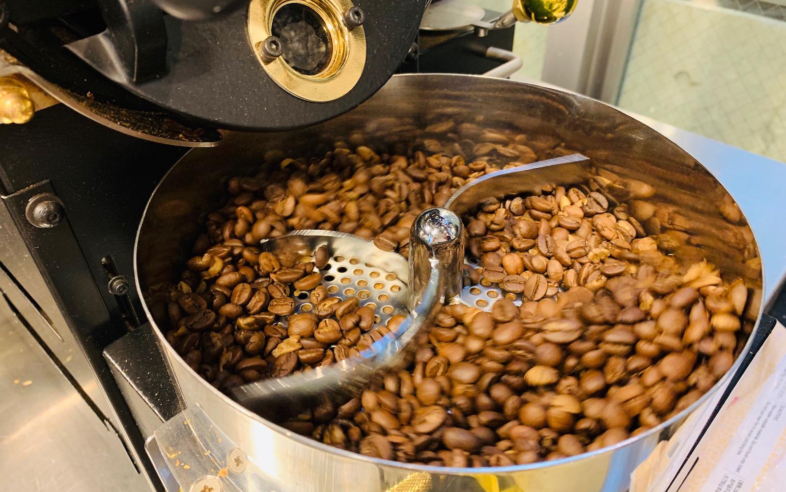 焙煎によるコーヒーの苦味の違い