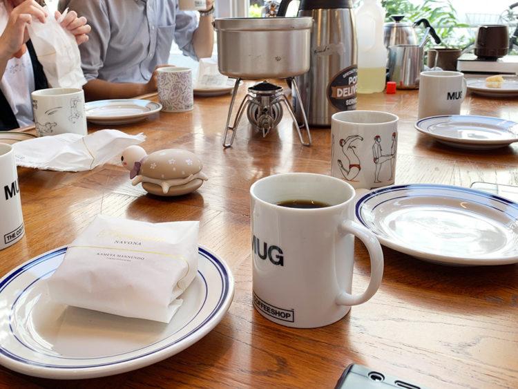 ナボナと唐揚げザンギにあうコーヒーとは