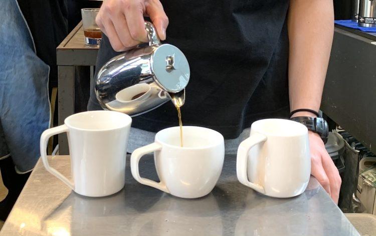 コーヒーテイスティングカップ