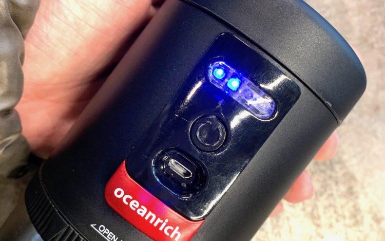 oceanrich 自動コーヒーミル G1 臼式 コードレス 電池部分