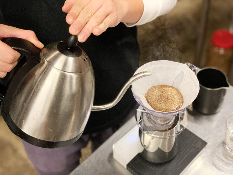 ドリップコーヒー美味しくいれる
