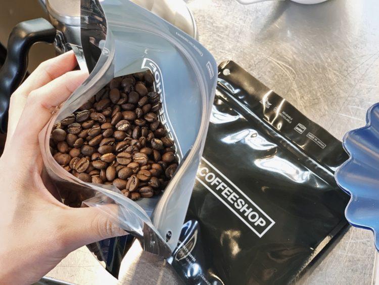 コーヒー豆 保存 pake
