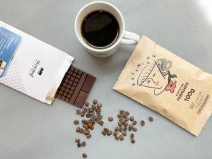 富ヶ谷minimal(ミニマル)のチョコレートとコーヒーのペアリング