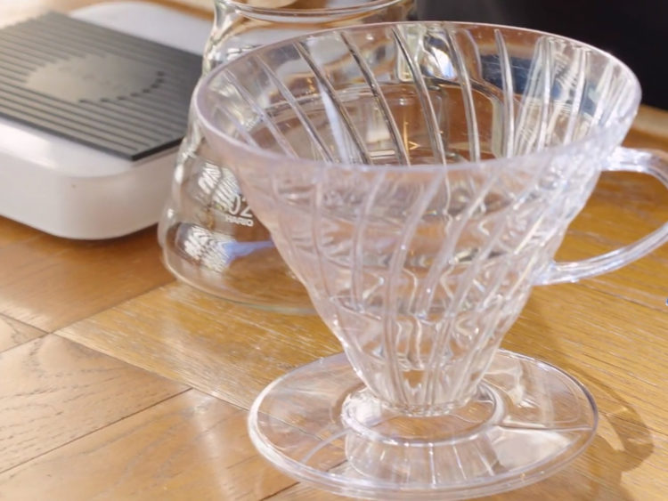HARIO V60ペーパーフィルター2杯分レシピ