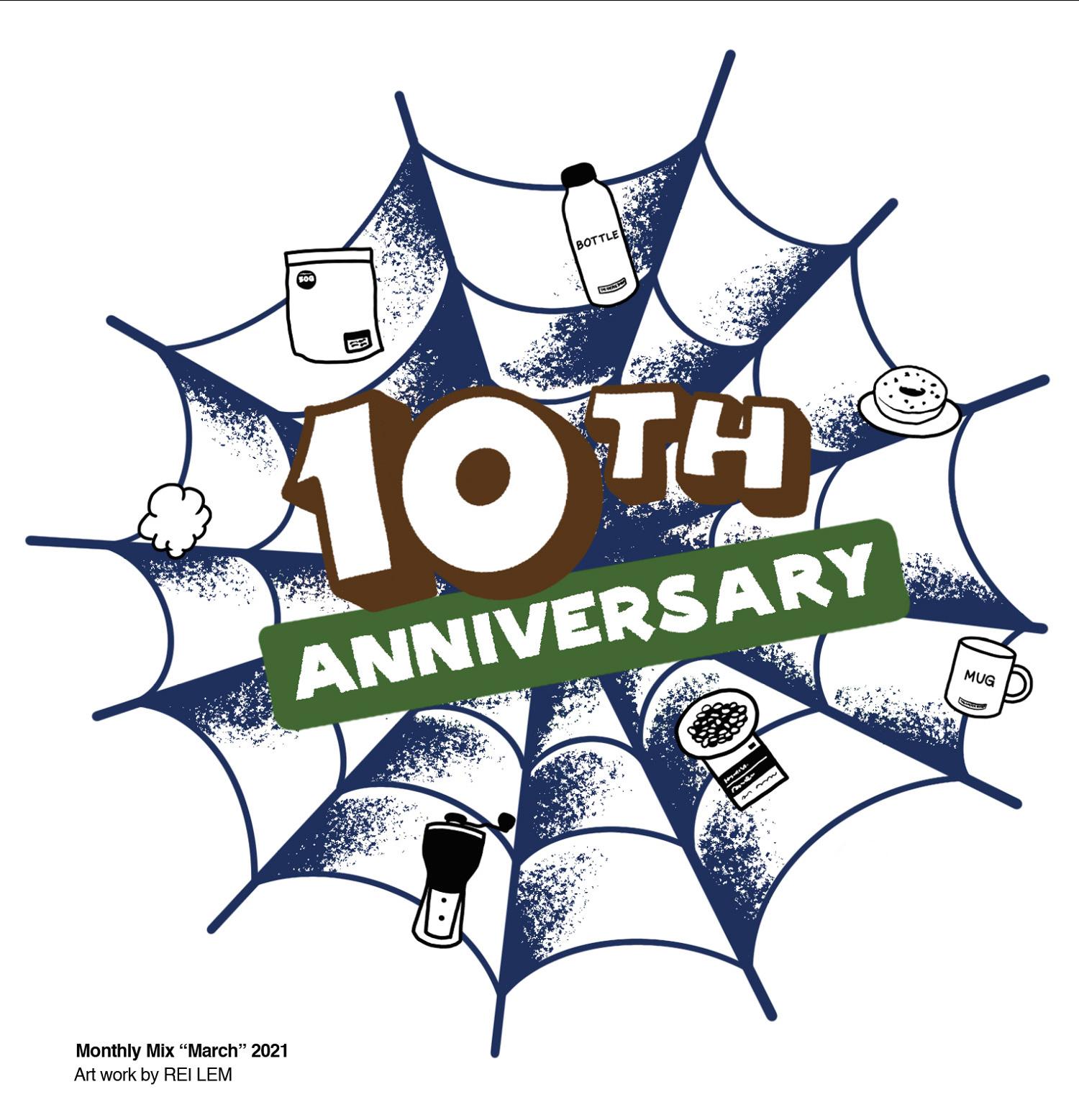 THE COFFEESHOP 10周年