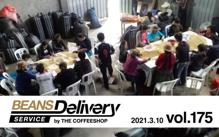 コーヒー定期便(サブスクリプション)Beans Delivery Service vol.175