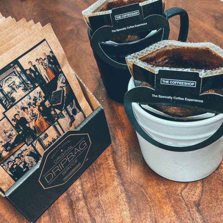 結婚式ギフトにオリジナルのドリップバッグコーヒー