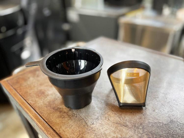 ゴールドフィルター付属の本格派コーヒーメーカー【cores 5CUP COFFEE MAKER C301-WH】 使用レビュー その1