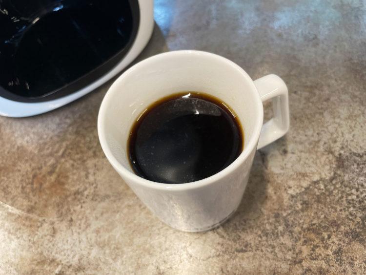 おひとり様を楽しむ 1カップ用コーヒーメーカー Cores C311WH 使用レビュー
