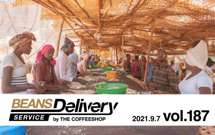 9月8日発送のコーヒー定期便エチオピアとグアテマラ!BDS MAGAZINE vol.187